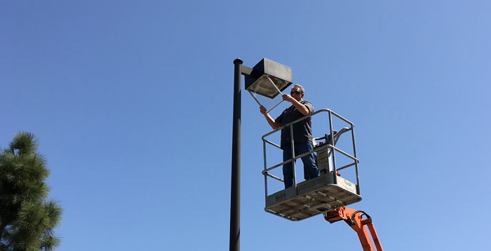 Light Pole Repair & Replacement